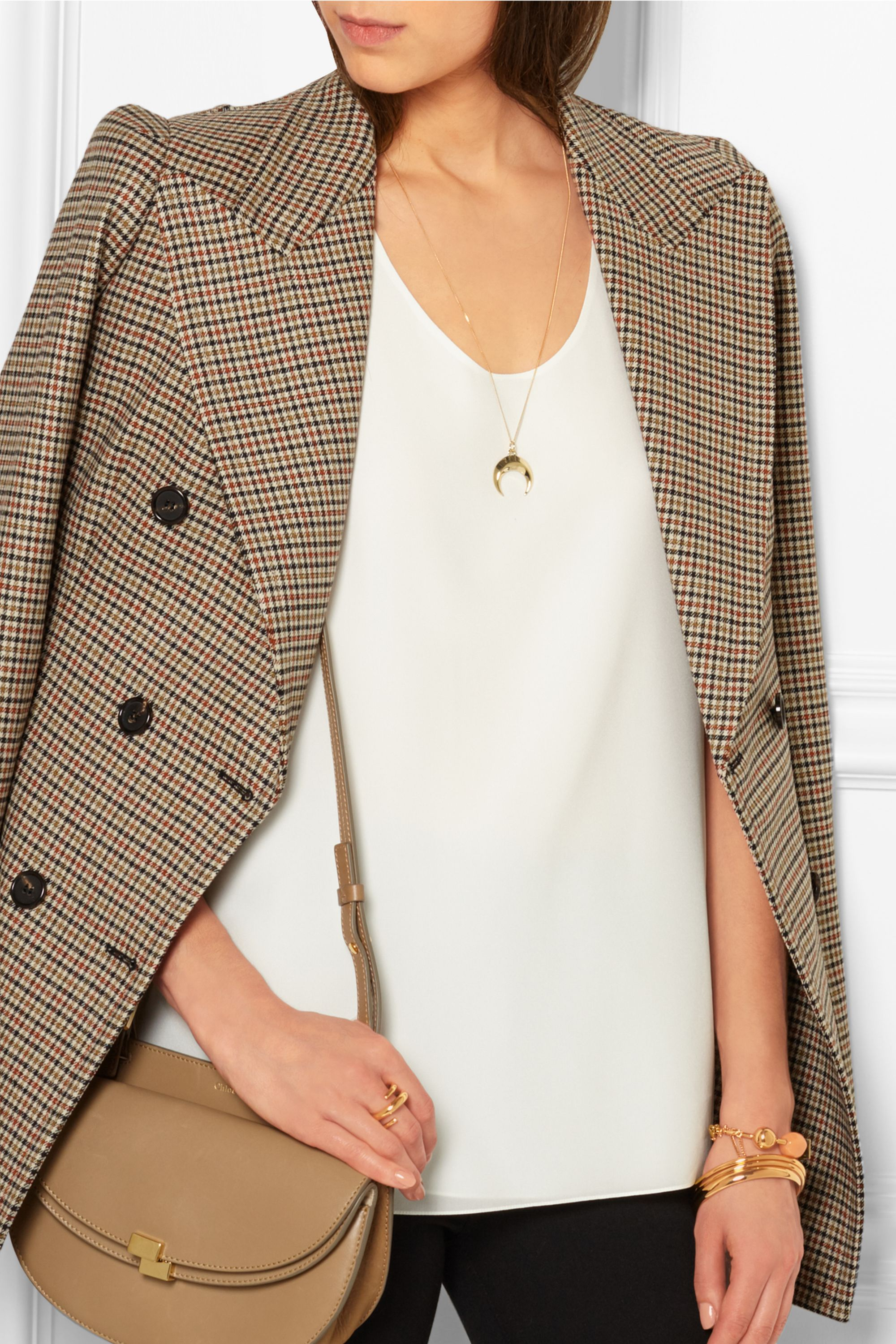 Chloé Isalis gold-tone necklace