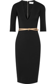 Victoria Beckham Stretch cotton-blend cady dress
