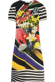 Mary Katrantzou Vitta printed silk crepe de chine dress