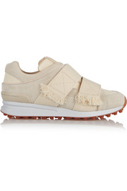 3.1 Phillip Lim Trance suede and mesh sneakers