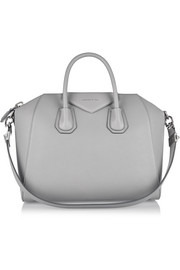 Givenchy Medium Antigona bag in gray textured-leather