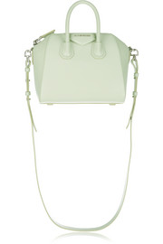 Mini Antigona bag in mint leather