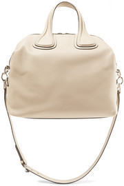 Givenchy Medium Nightingale bag in beige textured-leather