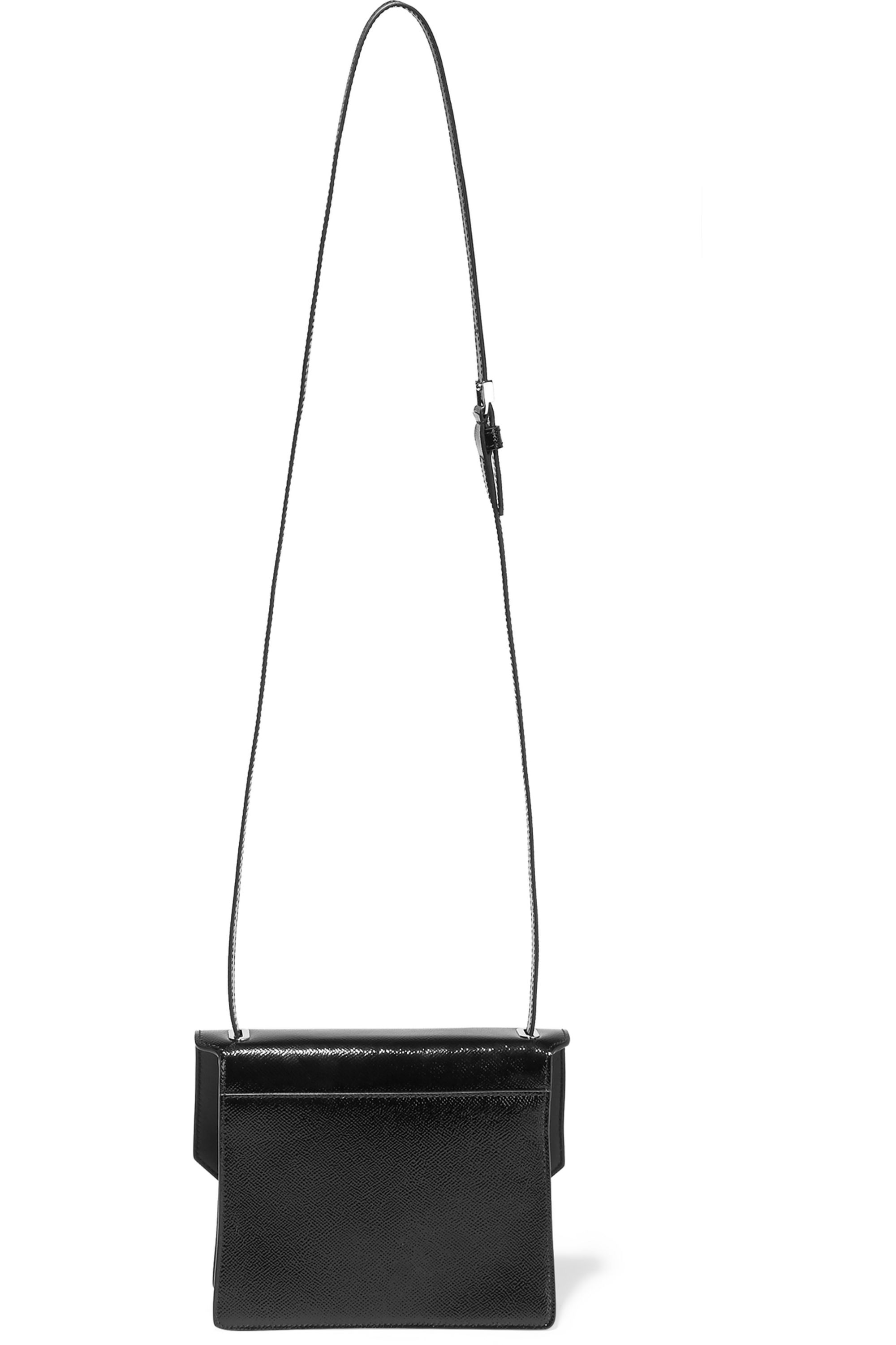 Givenchy Obsedia shoulder bag in textured patent-leather