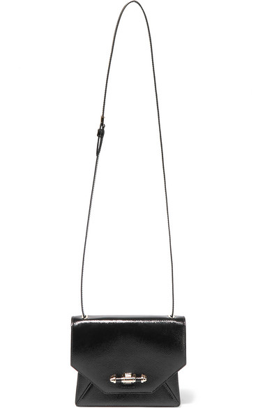 0cdf8d58c1a8 Givenchy. Obsedia shoulder bag in textured patent-leather