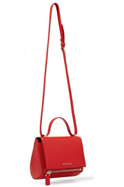 Givenchy Pandora Box shoulder bag in red textured-leather