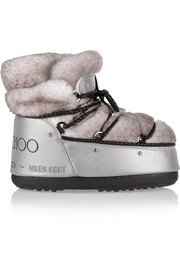 + Jimmy Choo MB Buzz shearling and shell snow boots