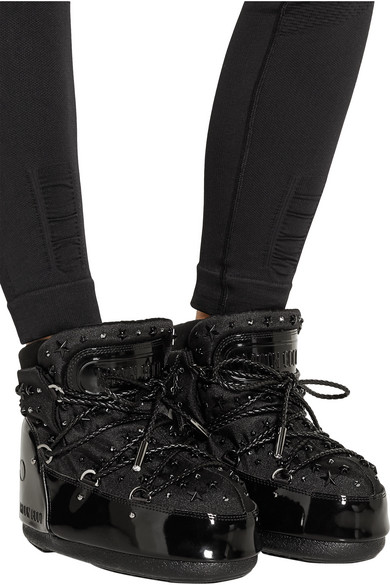 black patent leather snow boots national sheriffs