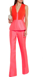 Antonio Berardi Satin peplum top