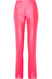 Satin flared pants
