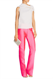 Antonio Berardi Satin flared pants
