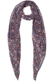 Étoile Isabel Marant Fay printed silk-georgette scarf