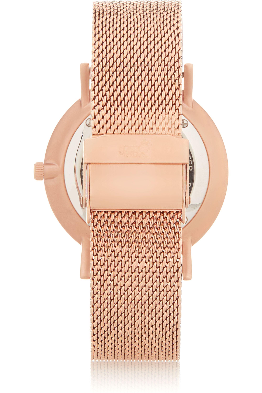 Larsson & Jennings CM rose gold-plated watch