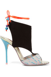 Sophia Webster Bobbie Twist suede sandals