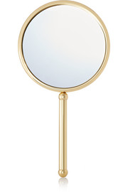 Double-Sided Hand-Held Mirror