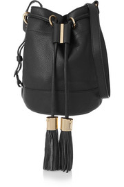 See by Chloé Vicki medium textured-leather bucket bag