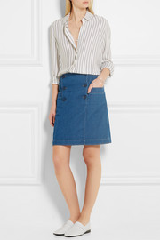 Boat denim skirt