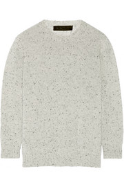 The Elder Statesman Mélange cashmere sweater