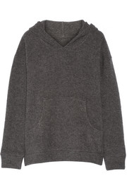The Elder Statesman Stretch cashmere-blend hooded sweater