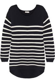Striped merino wool sweater