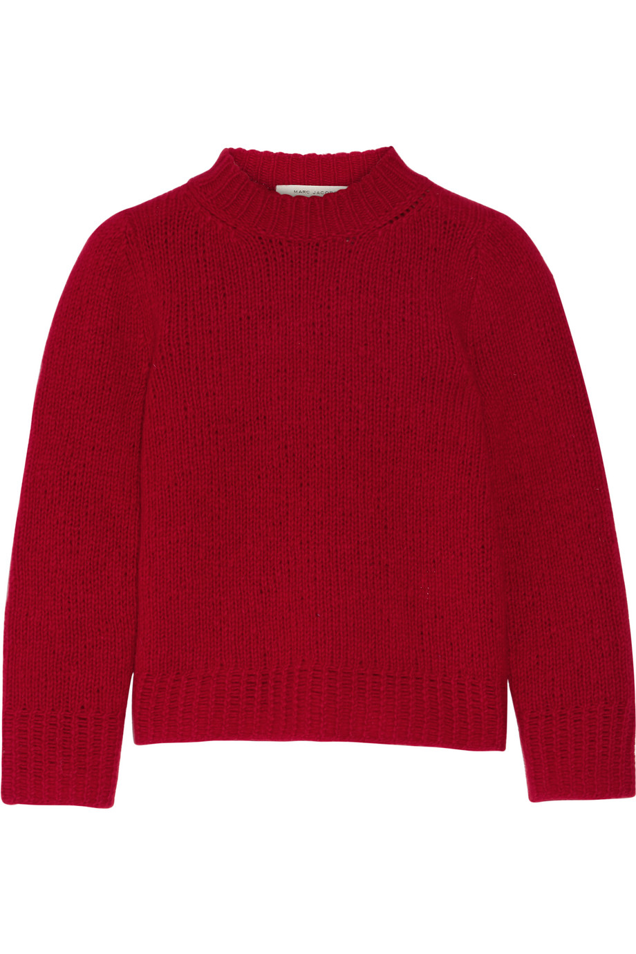 Marc Jacobs Wool and Cashmere-Blend Sweater, Red, Women's