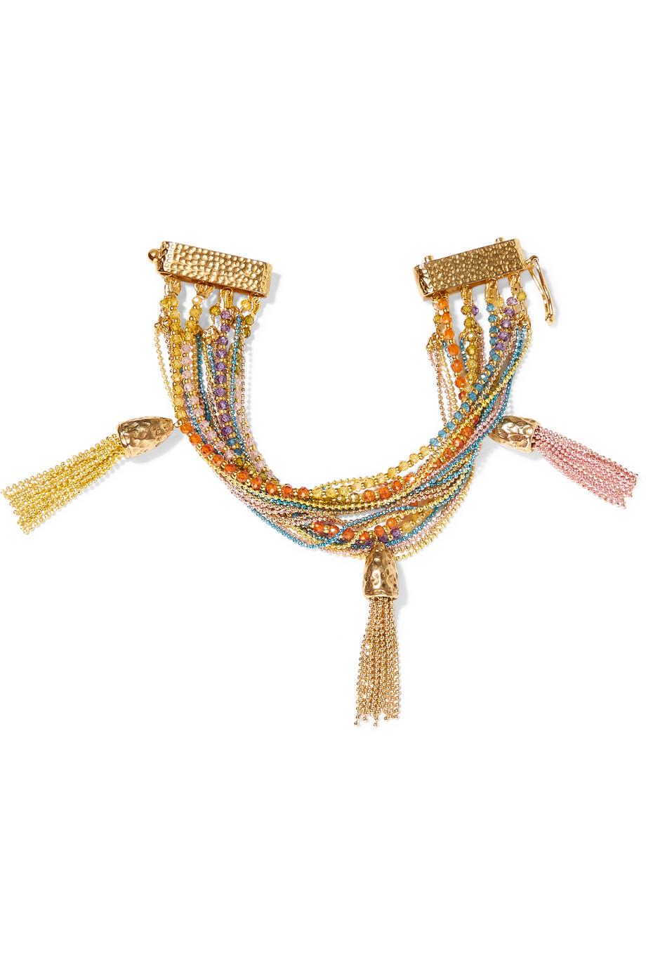 Rosantica Arcobaleno Gold-Tone Cubic Zirconia Bracelet, Women's
