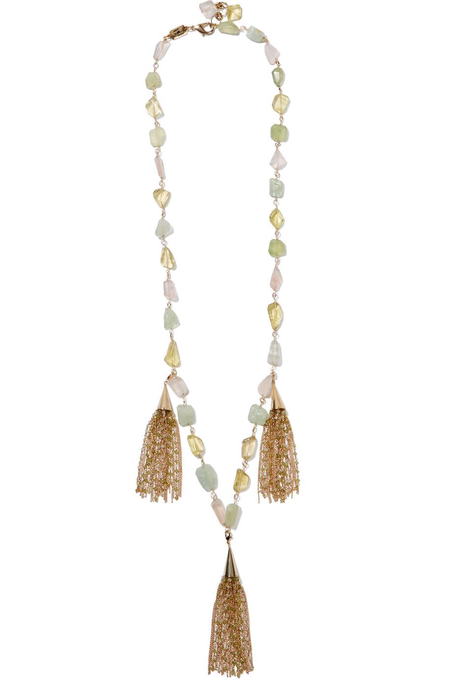 Rosantica Pastelli Gold-Tone Multi-Stone Necklace, Women's