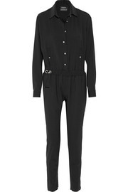 Stretch-wool jumpsuit