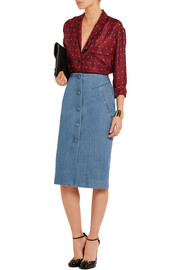 Whitcomb denim skirt