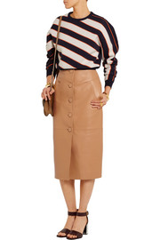 Romilly leather skirt