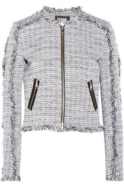 Karl Little cotton-blend tweed jacket