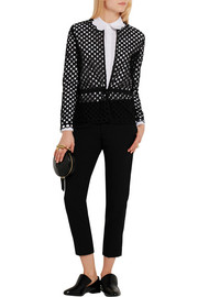 Carven Broderie anglaise cotton blouse