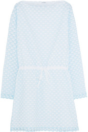 Carven Broderie anglaise cotton mini dress