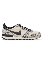 Nike Internationalist suede, nubuck and leather sneakers