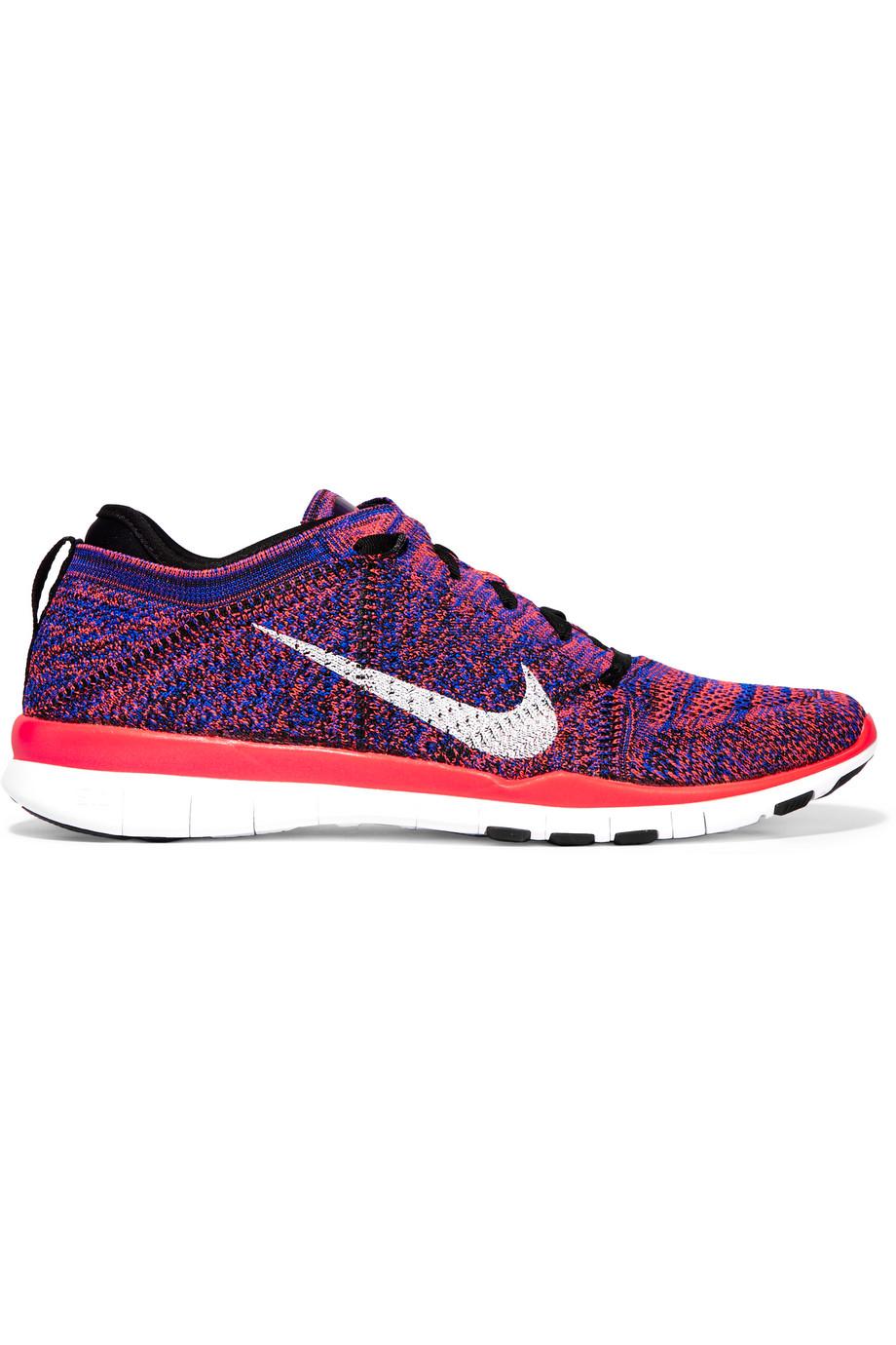 Nike Free 5.0 Mesh Sneakers, Blue, Women's, Size: 6