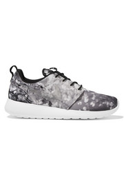 Roshe One printed canvas sneakers