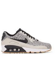 Nike Air Max 90 Premium leather and suede sneakers
