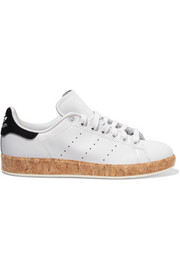 Stan Smith Luxe cork-trimmed leather sneakers