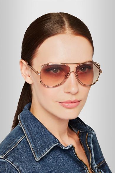 3bd199d54c4 Chloe Isidora Round Sunglasses