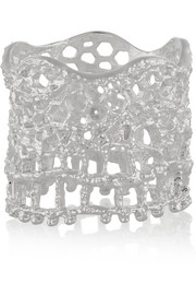 Aurélie Bidermann Lace silver-plated ring