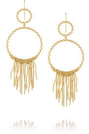 Marisa gold-plated earrings