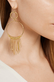 Aurélie Bidermann Marisa gold-plated earrings