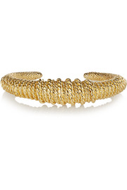 Marisa gold-plated cuff
