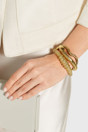 Aurélie Bidermann Marisa gold-plated cuff