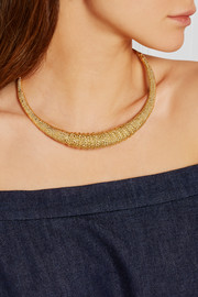 Aurélie Bidermann Marisa gold-plated choker