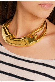 Aurélie Bidermann Body gold-plated necklace