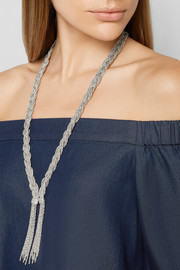 Miki silver-plated necklace