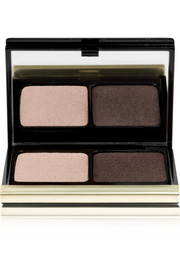 The Eyeshadow Duo - Soft Gold Lamé/ Smoky Brown No. 207