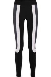 Kala color-block stretch-jersey leggings