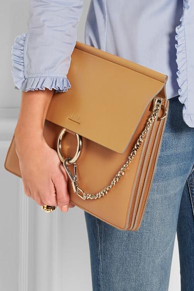 Chlo¨¦ | Faye medium leather shoulder bag | NET-A-PORTER.COM